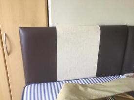 Single Bed plus Headboard, Sheets, Duvet and Duvet Cover