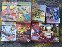 100 COMMANDO modern mini war comics books retail @ £2.25 each read once