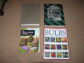 4 Gardening Books Readers Digest Encyclopedia,Small garden