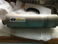 ZX9R Exhaust End Can (GForce Oval) for sale