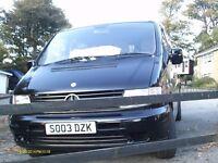 Black Mercedes Vito Van