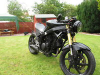 !!!New 12 MOT!!! HYOSUNG 125 GT 125cc moto. Looking for sell or swap for car.