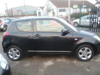 Suzuki SWIFT VVTS GLX,3 door hatchback,FSH,sporty looking car,key less entry and go,runs very well