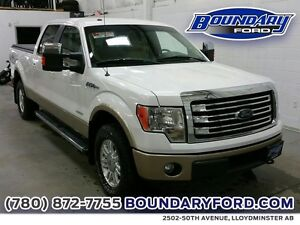 "2014 Ford F-150 4WD SuperCrew 145"" Lariat W/ LEATHER, REMOTE STR"