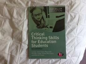 Education book for student teacher