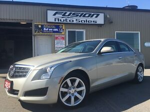 2013 Cadillac ATS LEATHER-SUNROOF-OFF LEASE-FACTORY WARRANTY