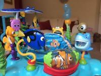 Disney baby finding nemo sea of activities baby jumper....jumparoo.