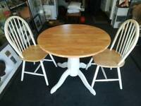 Table and x2 chairs