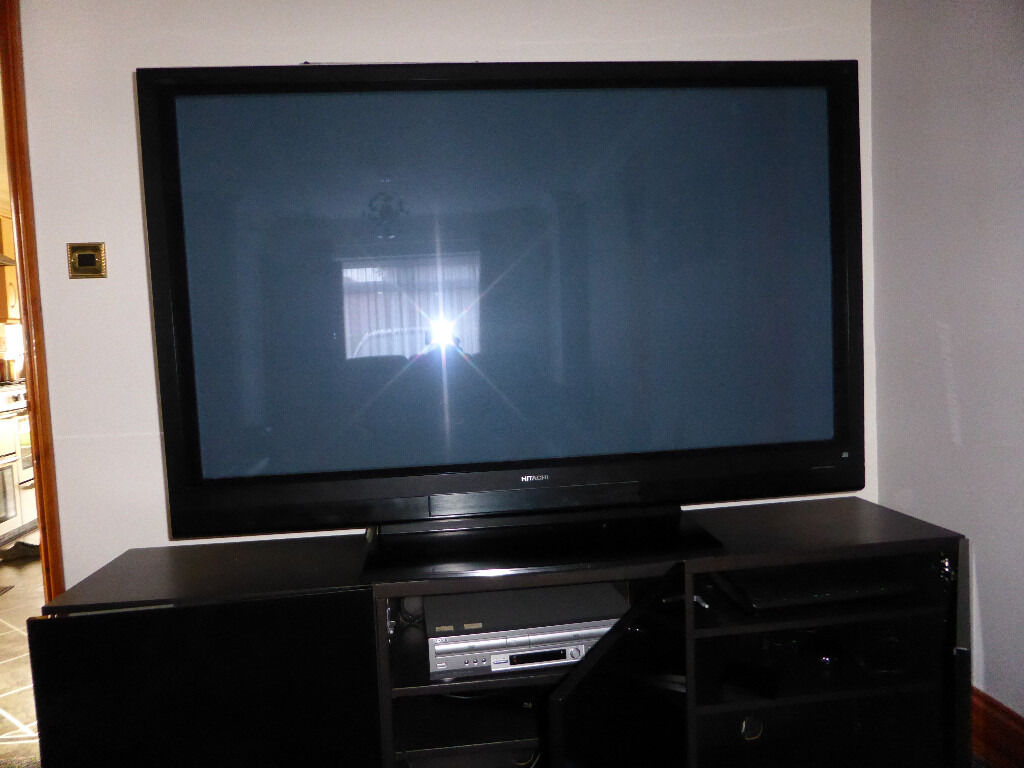 "60"" Hitachi TV Full HD 1080p, with Bose Acoustimass 6 Home Theatre System & Onkyo TXSR607 Amp, £495"