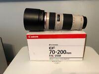 Canon EF 70X200mm f/4l USM