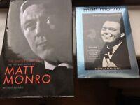 Matt Munro CDs and Book.