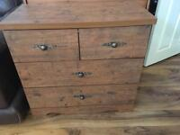 Vintage chestdraws. Free delivery