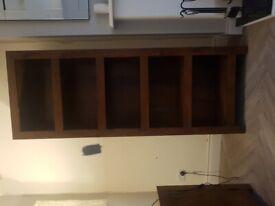 Next Walnut Bookcase