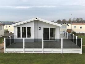 Beautiful 2 bedroom luxurious LODGE available for sale at trecco bay, porthcawl, south wales