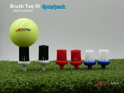 A99 Golf Brush Tee III Extreme Tees 6pcs/pack ()