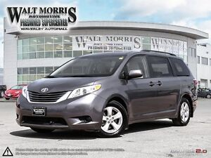 2016 TOYOTA SIENNA LE: LOCALLY OWNED, ONE OWNER, 8 PASSENGER
