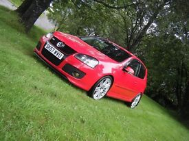 2007 57 VW GOLF GT TDI SPORT VERY SMART CLEAN EXAMPLE 180 BHP NEW TURBO MAY PX CHEAPER CAR