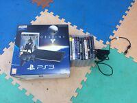 PS 3 Super Slim 500gb & 10 games 1 controller