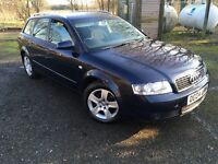 2004 Audi A4 1.9 tdi six speed diesel estate one owner full service history and MOT