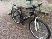 """Halfords Apollo Slant 26"""" wheel Small boys/mens mountain bike"""