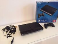 Sony PS3 500GB with 1 controller and 4 games
