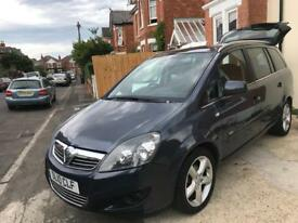 2010 Vauxhall Zafira SRI 1.8, low mileage, Long MOT, some service history and 7stamps on the book