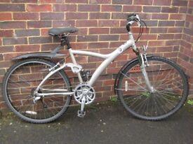 Decathlon mens 29er full suspension hybrid bike