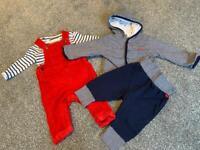 Baby boy clothes bundle 3-6mths