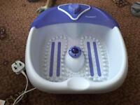 Ultimate bubble Foot spa boxed
