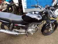 yamaha ybr 125 just passed mot some marks and a dent in tank come and look