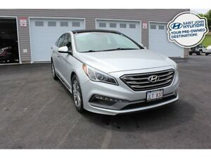 2015 Hyundai Sonata Sport! SUNROOF! LEATHER! BACK UP CAM!