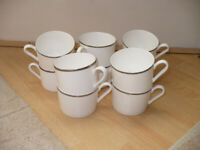 House clearance! 10x tea cups in very good condition.