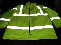 Dickies high vis coat
