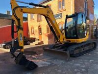 Digger and driver, dumper and other plant hire, building work