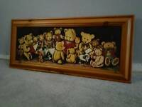 Picture frame teddys