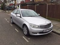 Mercedes Benz C CLASS, 2007 Automatic with many features, New MOT, 12 Months warranty