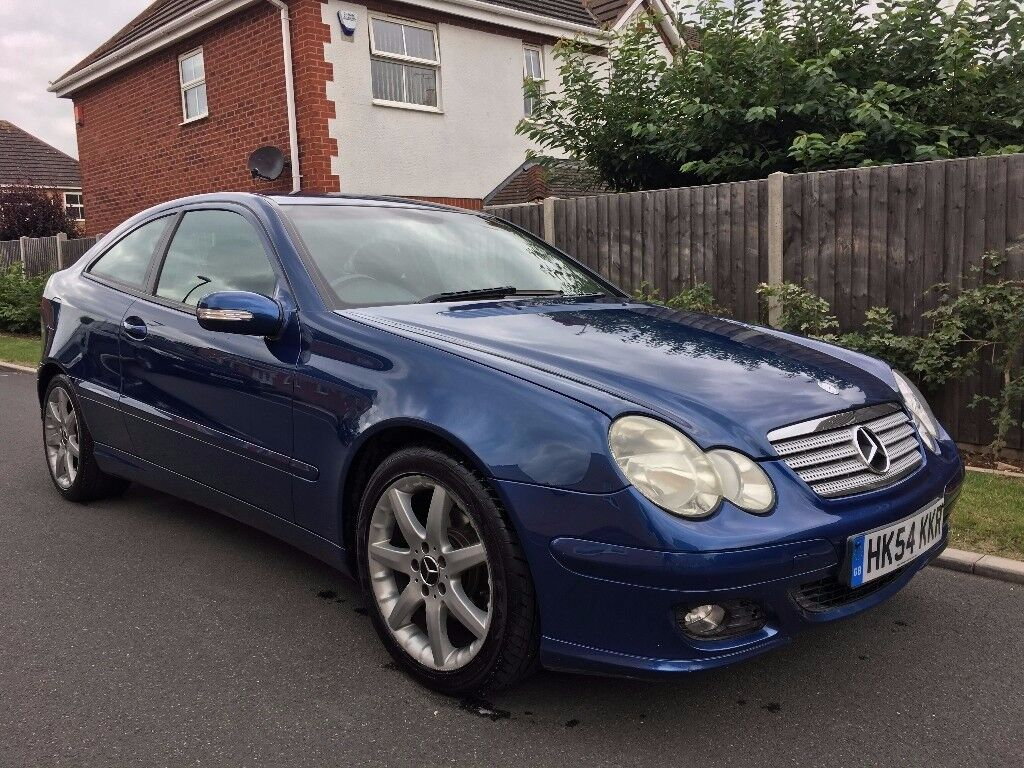 Mercedes Benz C220 CDI C Class Coupe - Full Service History - New Tyres/Discs Pads