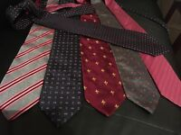 Men's ties, 1 for 3£ or 6 for 12£