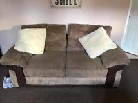 Large two seater sofa bed