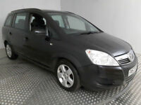 2008 VAUXHALL ZAFIRA 1.6 EXCLUSIV BLACK,7 SEATER,LOW MILES,CLEAN CAR,GREAT VALUE
