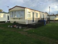Clacton-On-Sea Willerby leven static sited six berth caravan