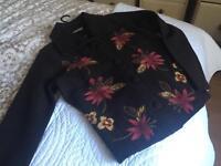 Wool jacket & linen trousers