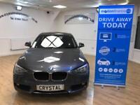 BMW 1 SERIES 1.6 116D EFFICIENTDYNAMICS BUSINESS 5d 114 BHP 6 M (grey) 2014