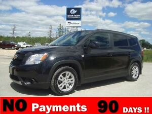 2012 Chevrolet Orlando LT 7 Passenger *Only $47 Weekly $0 down*