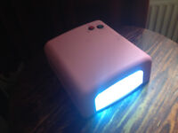 Nail Dryer 36W UV lamp with timer function
