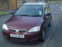 Low Mileage 54K Maroon Vauxhall Corsa Life Twinport 1.2 2005 £550 ono