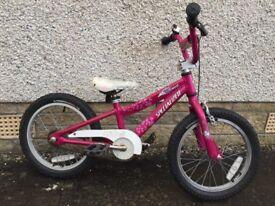 Girls bike specialised hotrock
