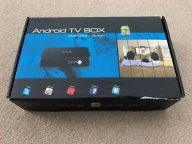 Android TV media streaming box - rooted with Kodi