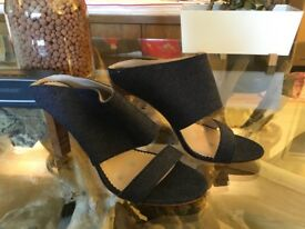 Boden 41 denim sandal