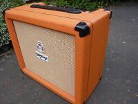 orange crush guitar amp like new £70